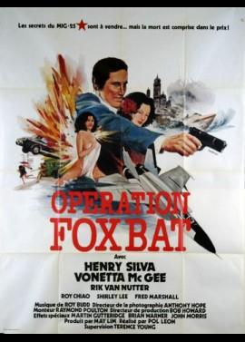 affiche du film OPERATION FOXBAT