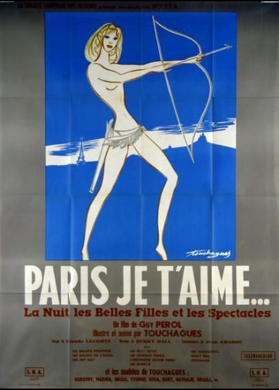 PARIS JE T'AIME movie poster