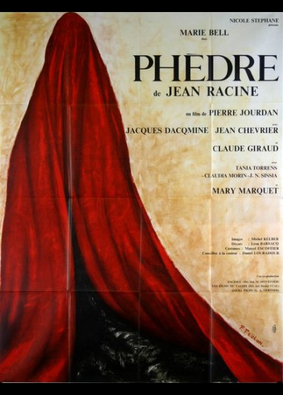 affiche du film PHEDRE