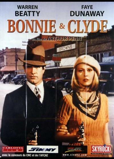 affiche du film BONNIE ET CLYDE