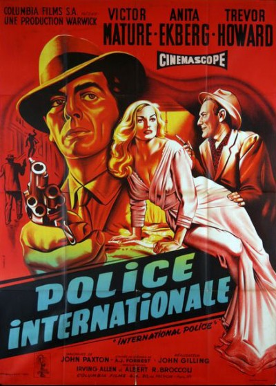 INTERPOL / INTERNATIONAL POLICE movie poster