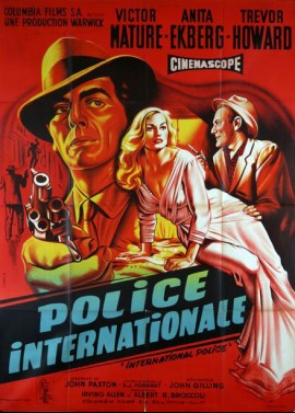 INTERPOL / INTERNATIONAL POLICE movie poster