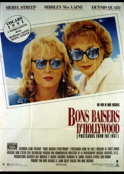 affiche du film BONS BAISERS D'HOLLYWOOD