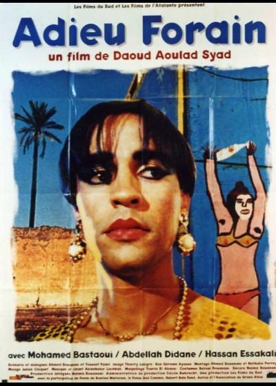affiche du film ADIEU FORAIN