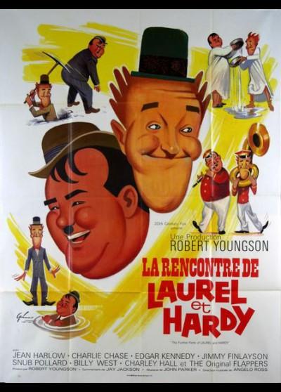 affiche du film RENCONTRE DE LAUREL ET HARDY (LA)