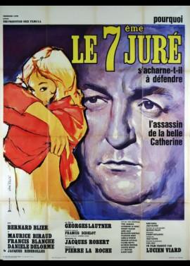 affiche du film SEPTIEME JURE (LE)