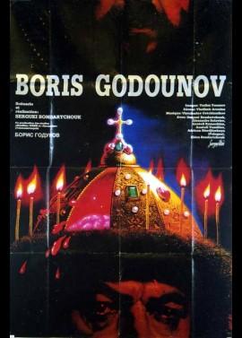 affiche du film BORIS GODOUNOV