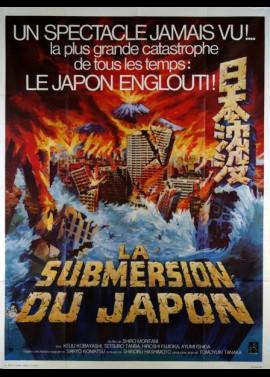 NIPPON SHINBOTSU / SUBMERSION OF JAPAN / TIDAL WAVES movie poster