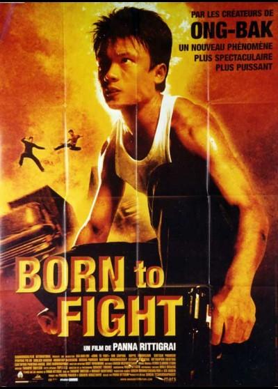 affiche du film BORN TO FIGHT