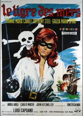 TIGRE DEI SETTE MARI (LA) movie poster