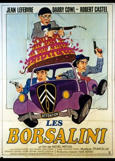 affiche du film BORSALINI (LES)