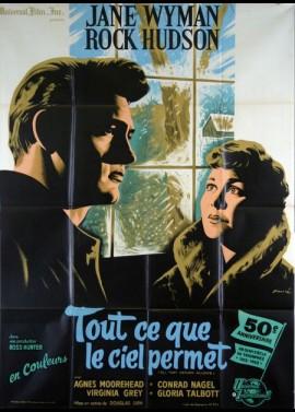 affiche du film TOUT CE QUE LE CIEL PERMET
