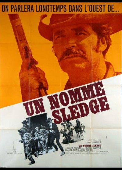 A MAN CALLED SLEDGE movie poster
