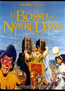 HUNCHBACK OF NOTRE DAME (THE) movie poster