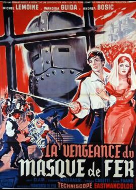 affiche du film VENGEANCE DU MASQUE DE FER (LA)