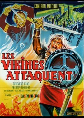 affiche du film VIKINGS ATTAQUENT (LES)