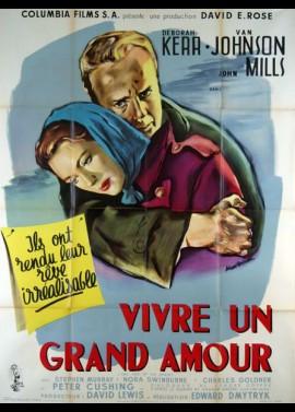 affiche du film VIVRE UN GRAND AMOUR