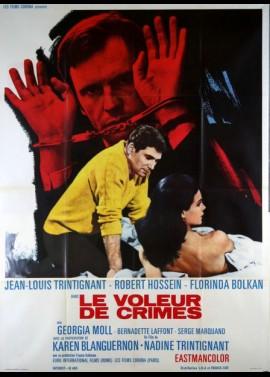 VOLEUR DE CRIMES (LE) movie poster