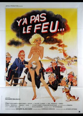 Y A PAS LE FEU movie poster