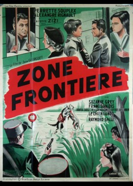 ZONE FRONTIERE movie poster