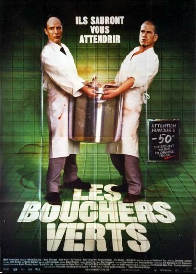 affiche du film BOUCHERS VERTS (LES)