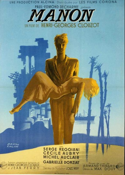 MANON movie poster