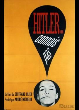 HITLER CONNAIS PAS movie poster