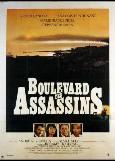 affiche du film BOULEVARD DES ASSASSINS