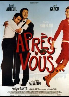 APRES VOUS movie poster