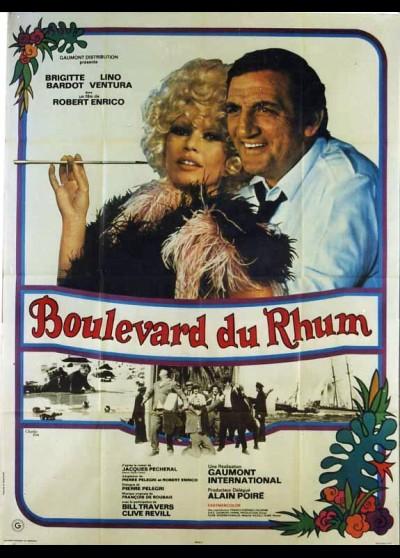 affiche du film BOULEVARD DU RHUM