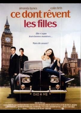 affiche du film CE DONT REVENT LES FILLES