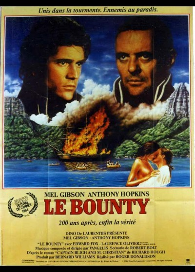 BOUNTY (LE) movie poster