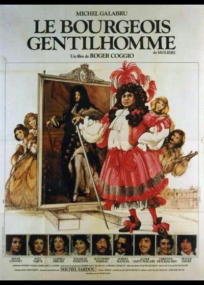 affiche du film BOURGEOIS GENTILHOMME (LE)