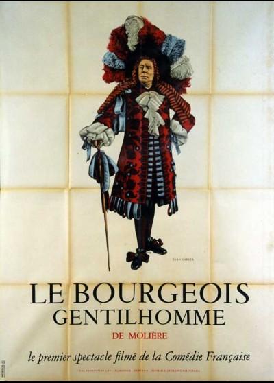 affiche du film BOURGEOIS GENTILHOMME (LE) SPECTACLE FILME DE LA COMEDIE FRANCAISE