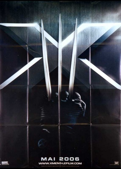 affiche du film X MEN L'AFFRONTEMENT FINAL