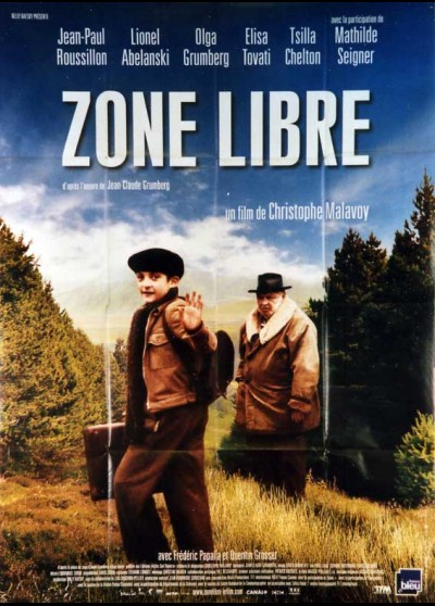 ZONE LIBRE movie poster