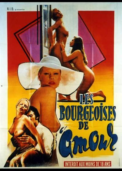 affiche du film BOURGEOISES DE L'AMOUR (LES)