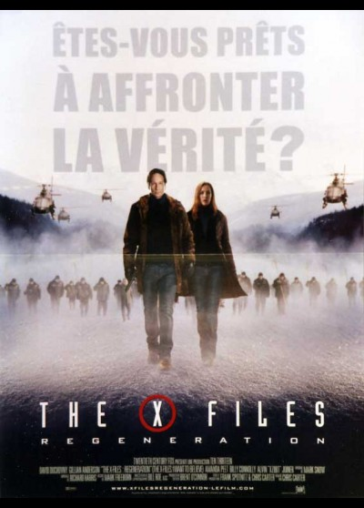 X FILES I WANT TO BELIEVE (THE) movie poster