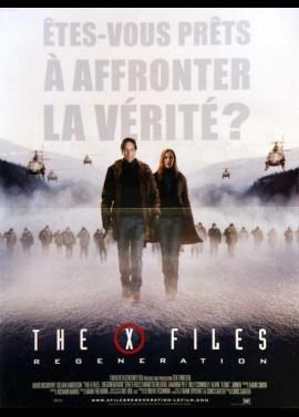 affiche du film X FILES REGENERATION (THE)