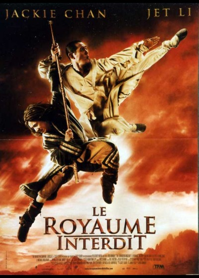 FORBIDDEN KINGDOM (THE) movie poster