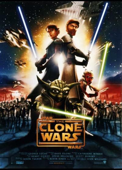 STAR WARS CLONE WARS (THE) movie poster