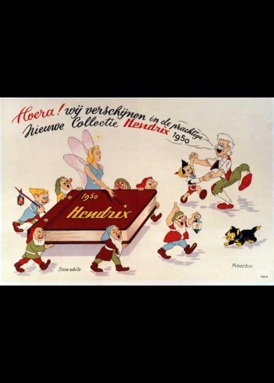 affiche du film FESTIVAL WALT DISNEY BLANCHE NEIGE ET PINOCCHIO