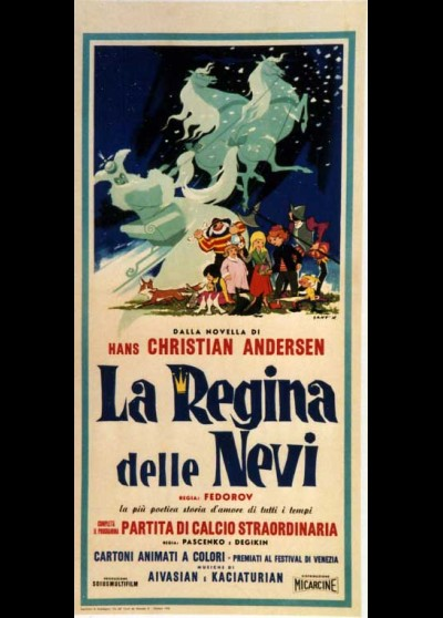 affiche du film REINE DES NEIGES (LA)