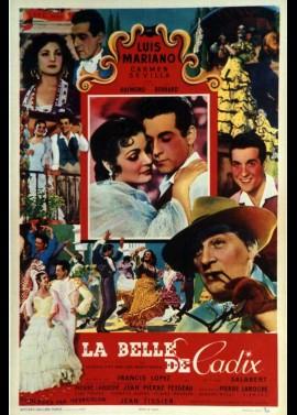 affiche du film BELLE DE CADIX (LA)
