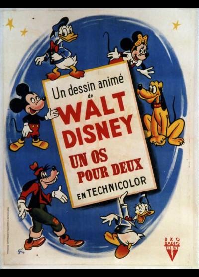 affiche du film UN OS POUR DEUX