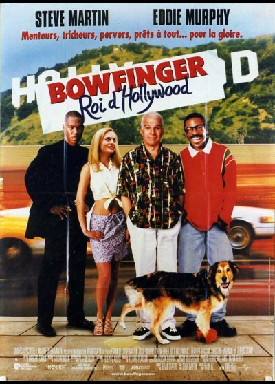 affiche du film BOWFINGER ROI D'HOLLYWOOD
