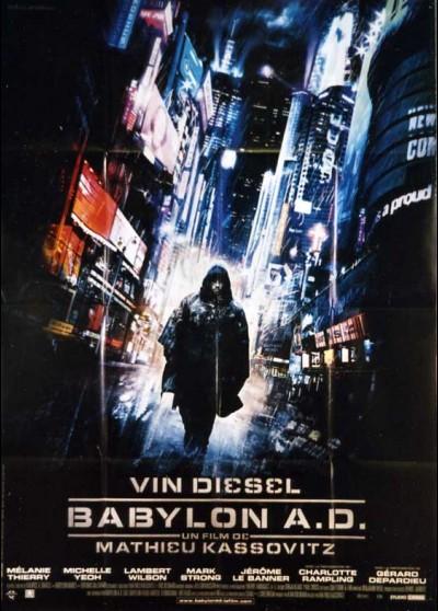 affiche du film BABYLON A.D