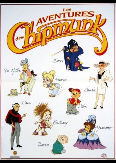 affiche du film AVENTURES DES CHIPMUNK (LES)
