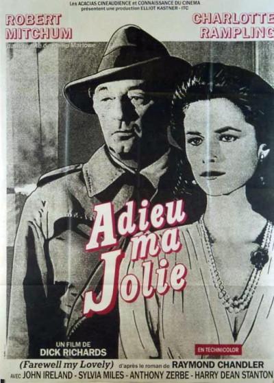 affiche du film ADIEU MA JOLIE