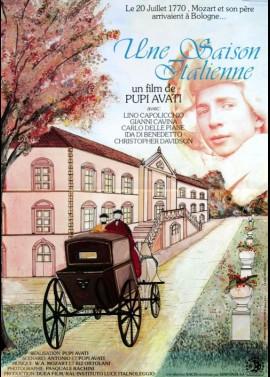 affiche du film UNE SAISON ITALIENNE